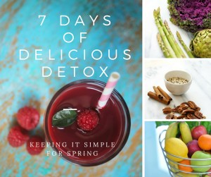 7 Days of Delicious for Spring
