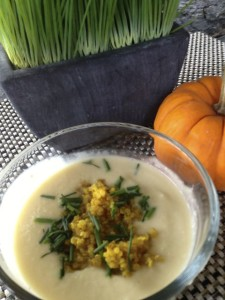Cauliflower Quinoa Soup
