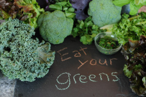 Greens are an important component in whole food detoxes.